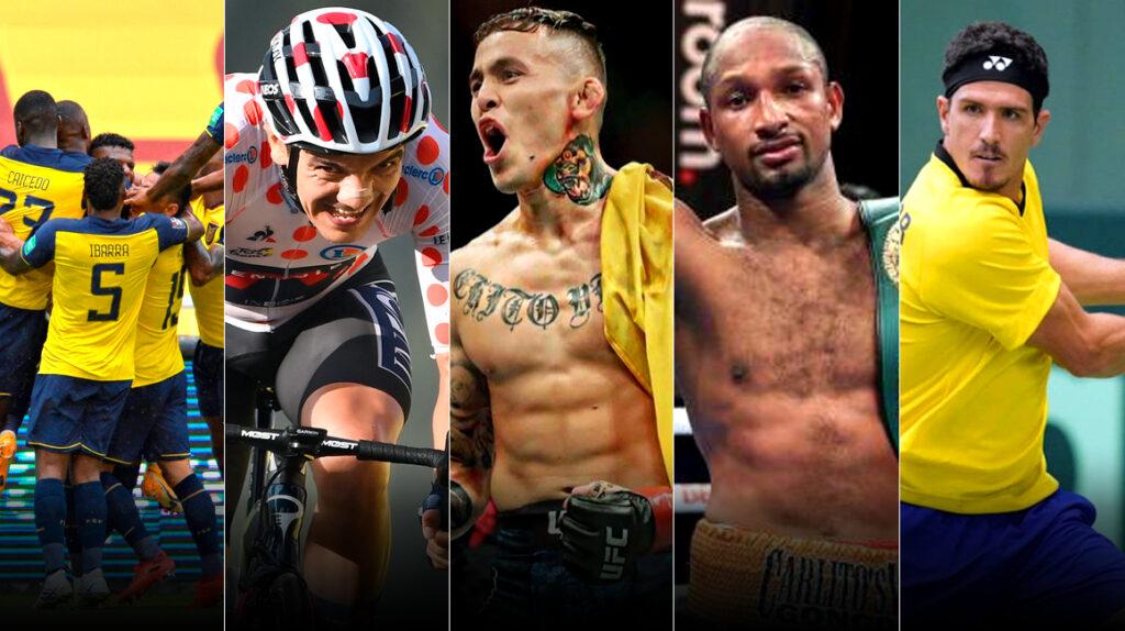 Los cinco momentos más destacados del deporte ecuatoriano en 2020