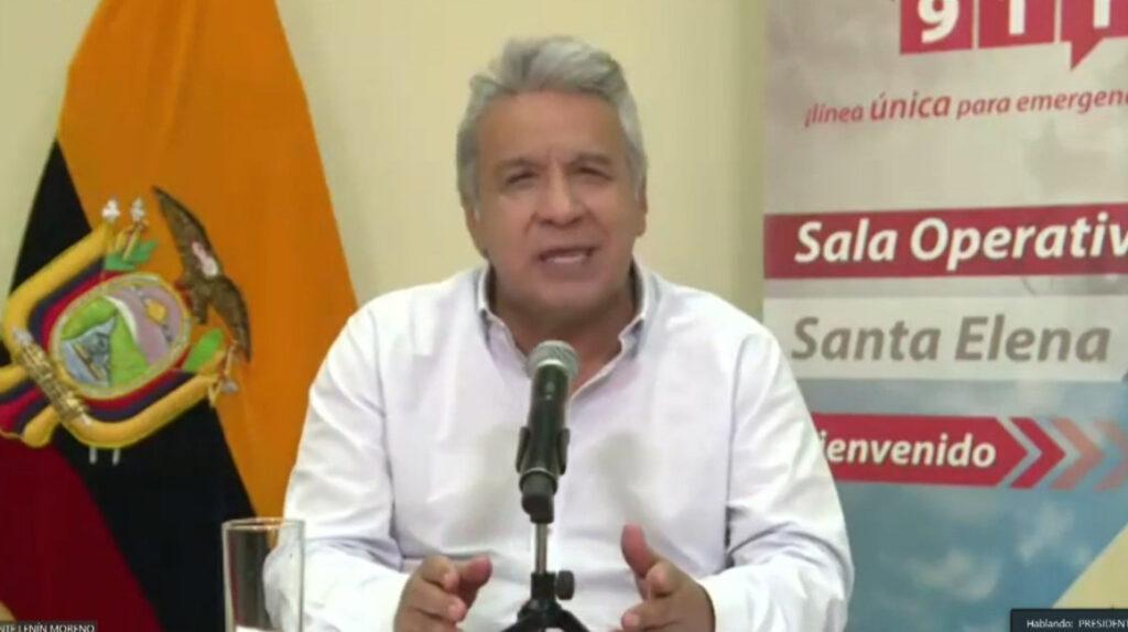Presidente Moreno anuncia un nuevo estado de excepción por 30 días
