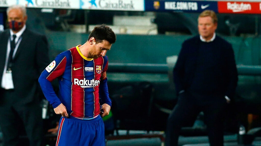 Messi no entrena con el Barcelona y no jugará ante el Eibar
