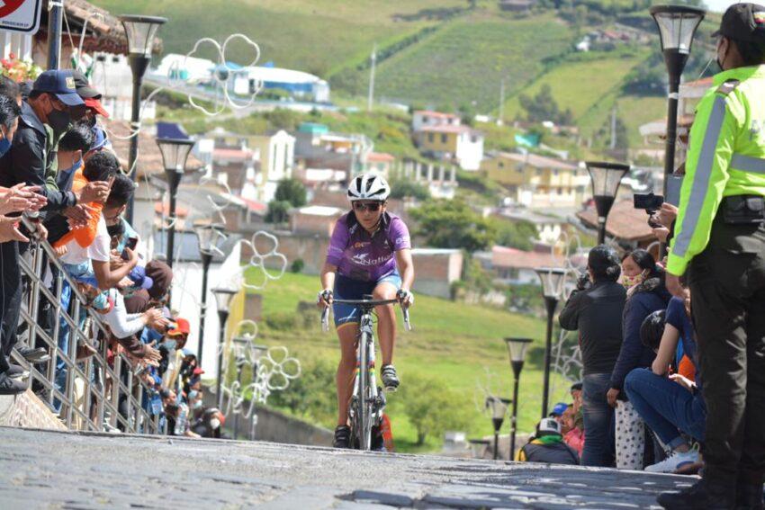Marcela Peñafiel, ganadora del Tour de la Juventud en la categoría damas.