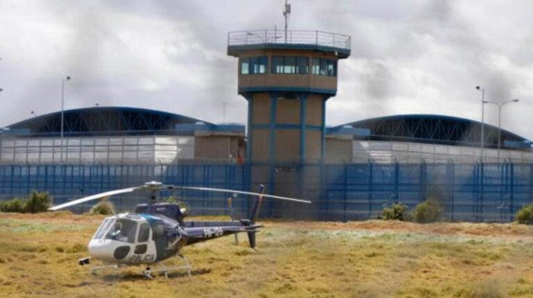 Imágenes de la Cárcel de Latacunga, el 15 de diciembre de 2020.
