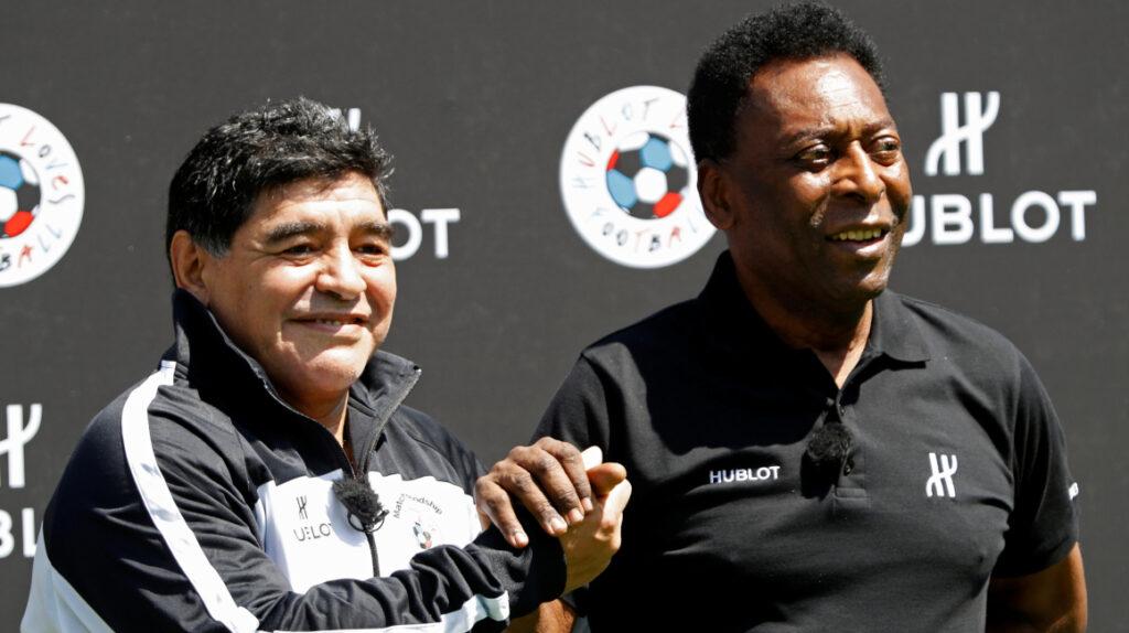 Maradona, Messi, Pelé y Ronaldo en la alineación ideal de todos los tiempos