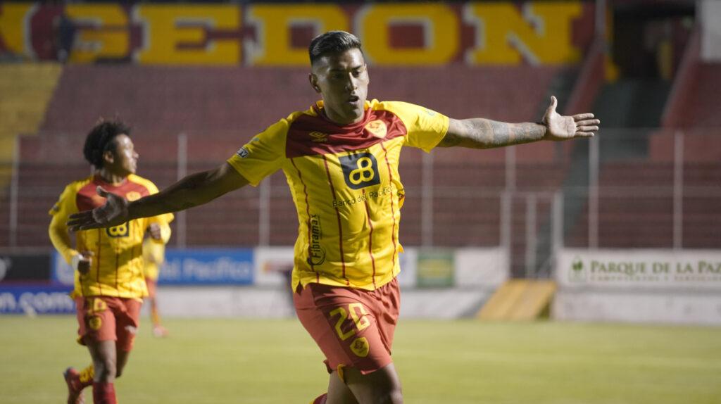 Barcelona pierde ante Aucas y comparte el liderato con Emelec