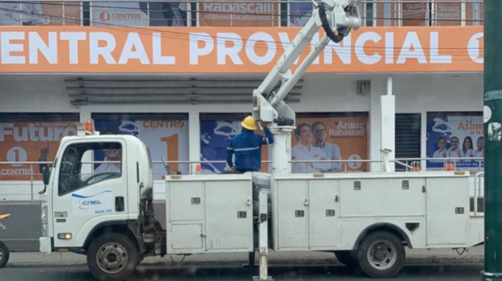 EMCO rechaza uso de vehículo del Estado para proselitismo político