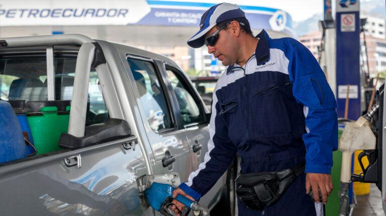 Petroecuador: Existe stock suficiente de combustibles
