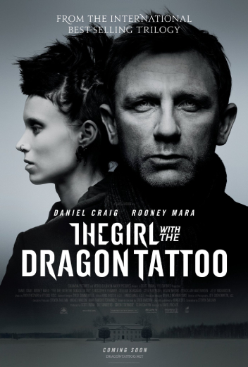 'The girl with the dragon tattoo', de David Fincher