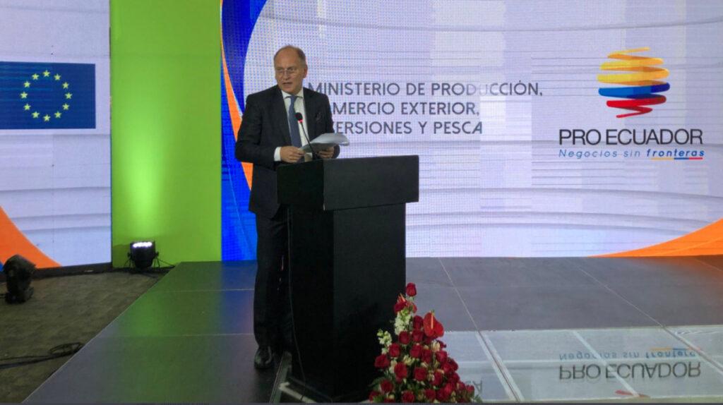 Ecuador exportó 250 nuevos productos a Europa desde la vigencia del acuerdo