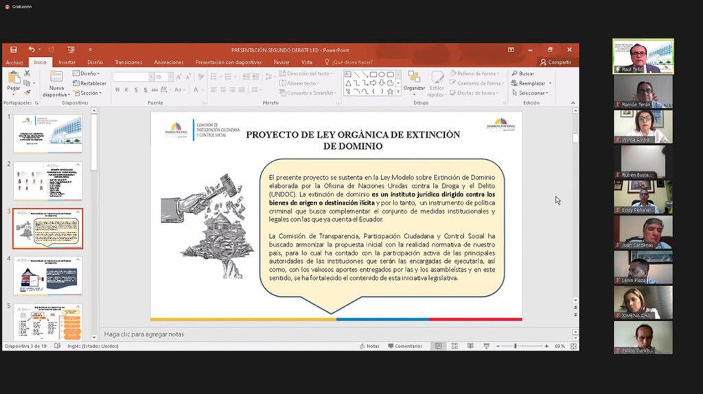 El presidente Moreno objetó y vetó parcialmente la Ley de Extinción de Dominio