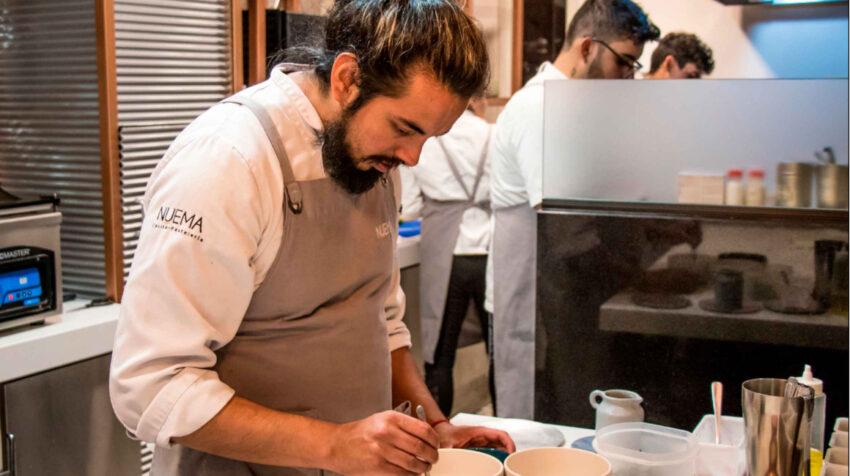 Alejandro Chamorro, chef del restaurante Nuema de Ecuador.