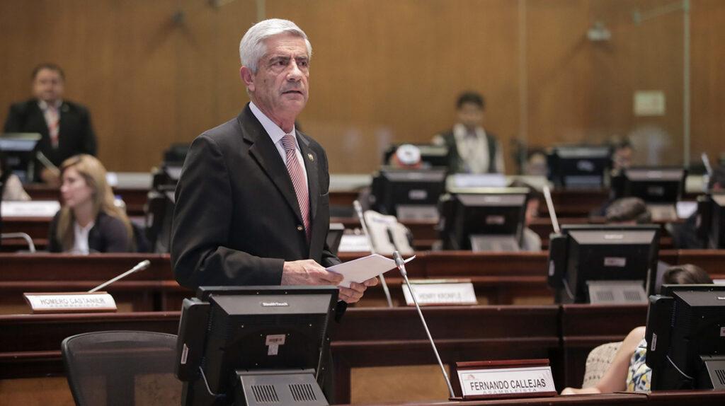 Fernando Callejas presidirá el Comité de Ética de la Asamblea