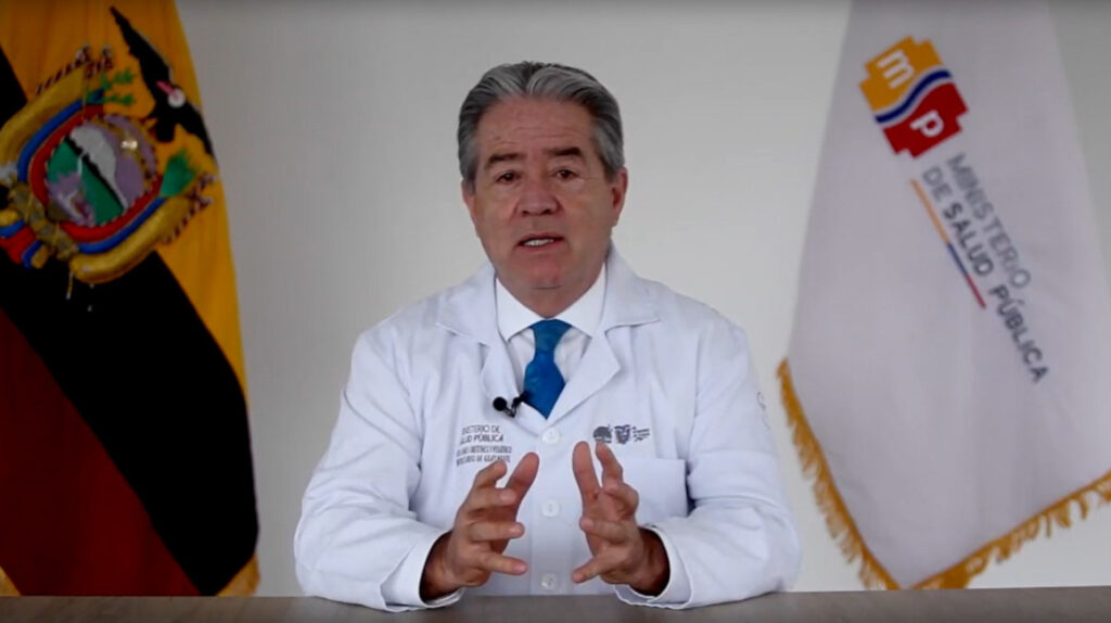 Ministro de Salud, Juan Carlos Zevallos, renuncia a su cargo