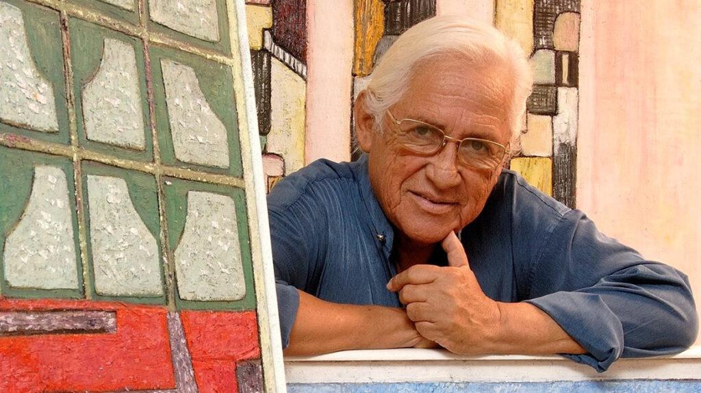 Enrique Tábara, el pintor de los pies que sedujo a los genios europeos