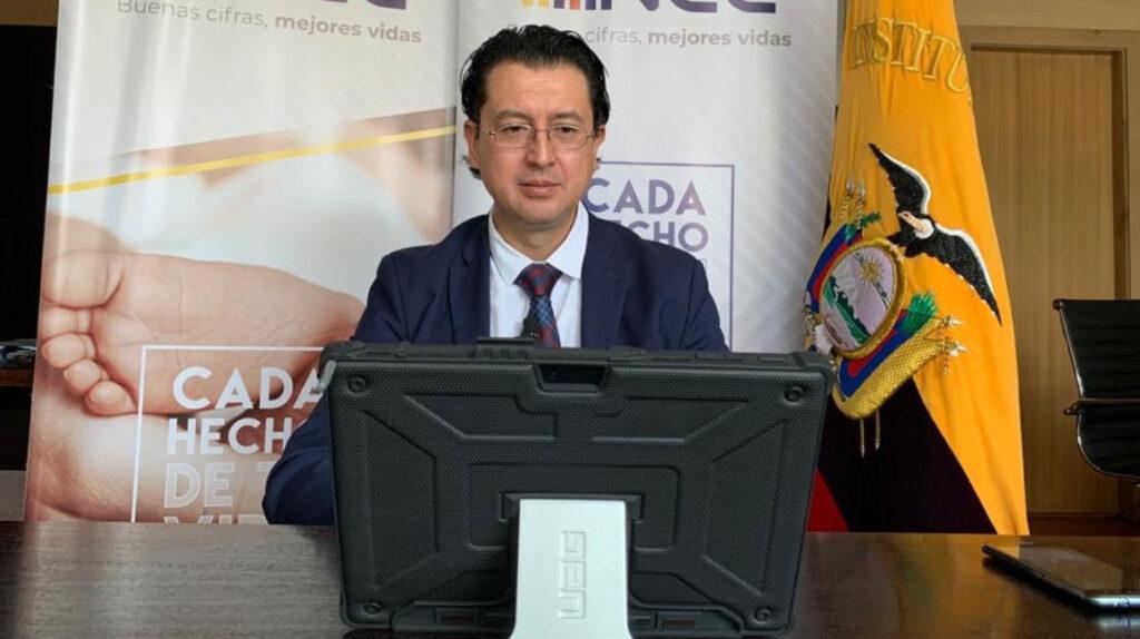 Diego Andrade renuncia a la dirección ejecutiva del INEC