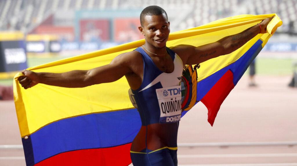 La Unidad de Integridad de Atletismo suspende a Álex Quiñónez
