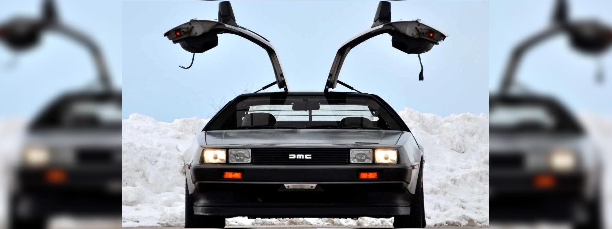 Volver del pasado: el DeLorean podría regresar como un modelo eléctrico