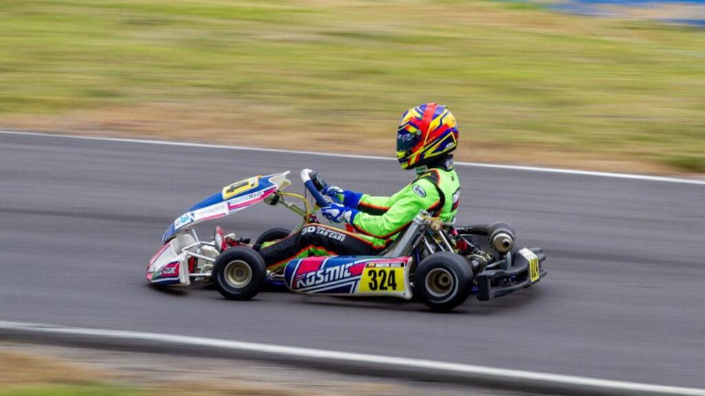 Martín Arias, el piloto ecuatoriano que quiere llegar a la Fórmula 1