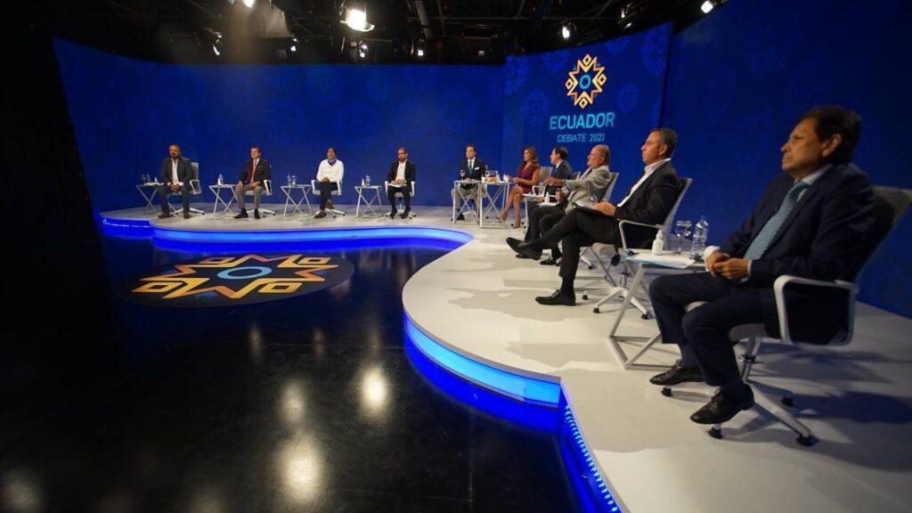 El careo se impuso en el último debate presidencial del CNE