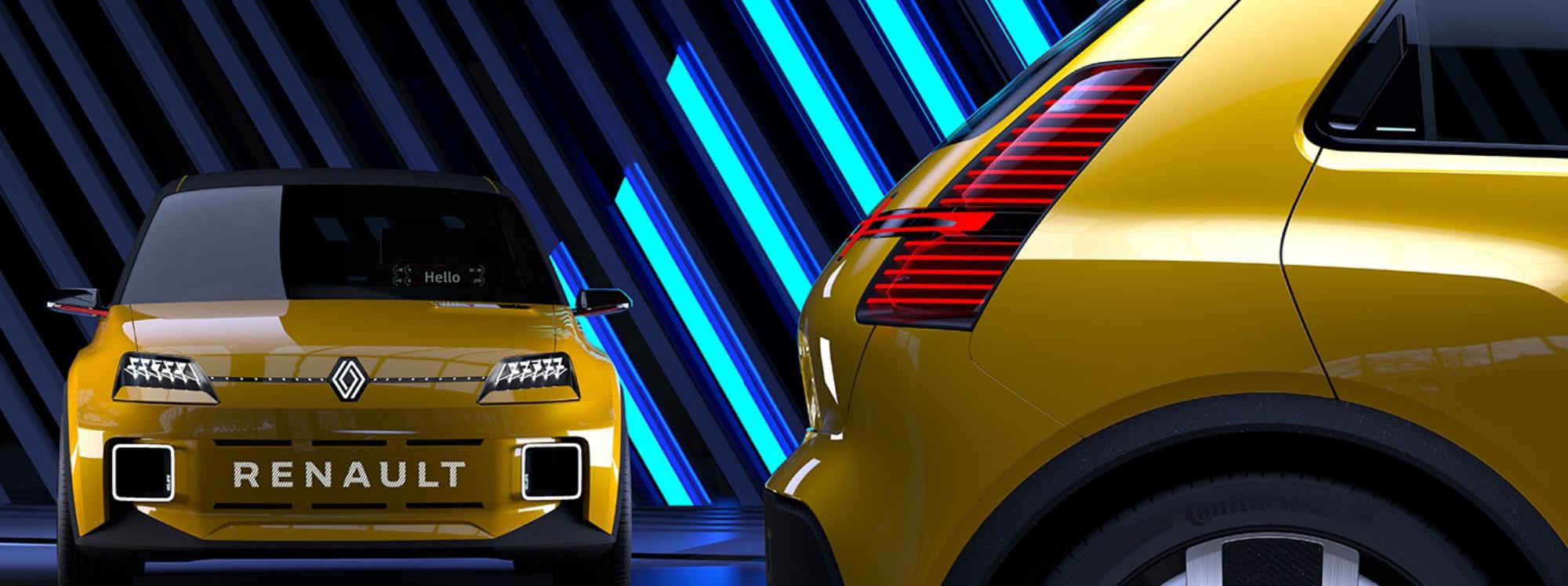 Renault anunció el regreso del R5, pero en versión eléctrica