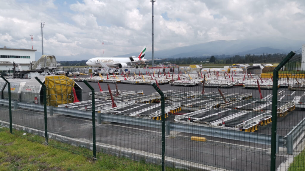Aeropuerto de Quito tiene todo listo para recibir las vacunas contra el Covid-19