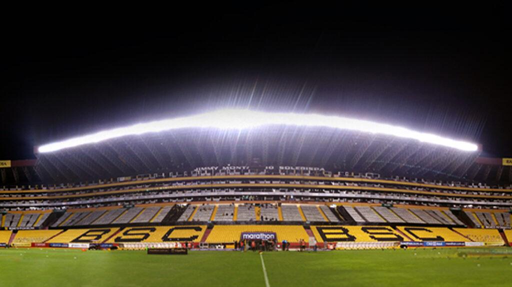 Las nuevas luces del estadio Monumental se estrenarán en la Noche Amarilla