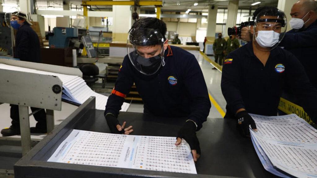 CNE nuevamente lleva retrasos en la impresión de papeletas electorales