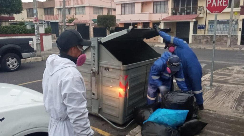 Emaseo recolecta la basura de Quito con el 41% de su flota vehicular inoperativa