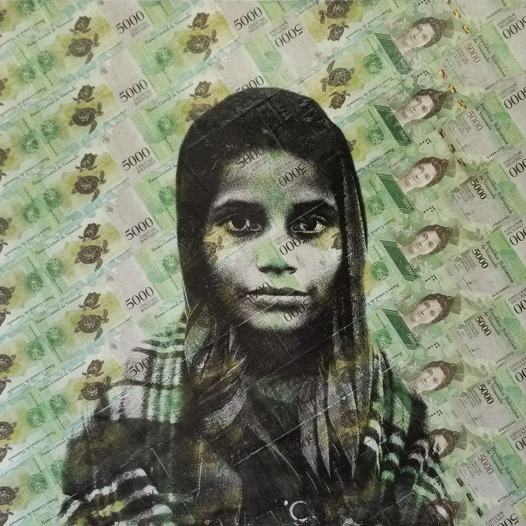 Retrato de Arlenis Méndez, de 12 años, de Felipe Jácome.