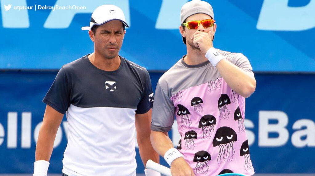 Gonzalo Escobar y Ariel Behar jugarán la final de dobles de Delray Beach