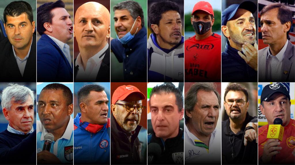 El 75% de los entrenadores que dirigirán en la LigaPro 2021 son extranjeros