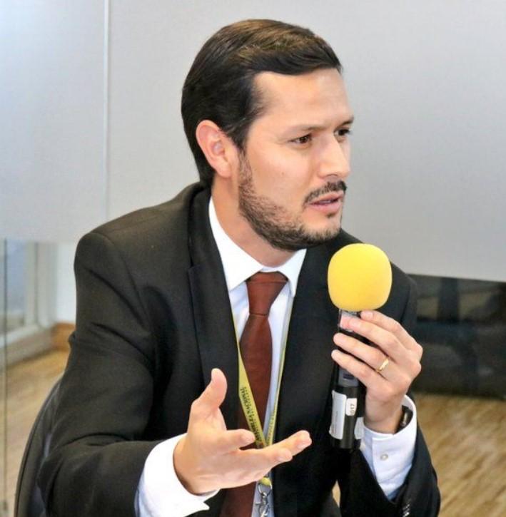 Pablo Encalada, abogado en libre ejercio.