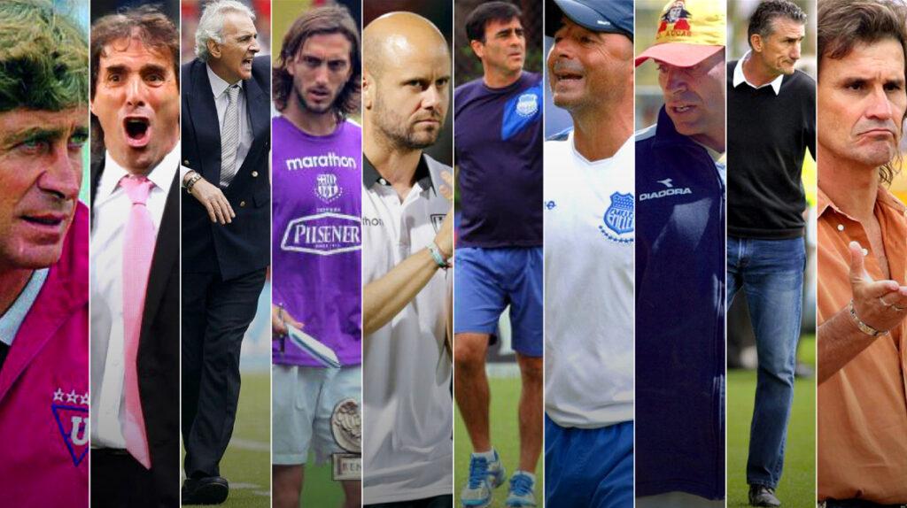 El fútbol ecuatoriano, una plataforma también para los entrenadores