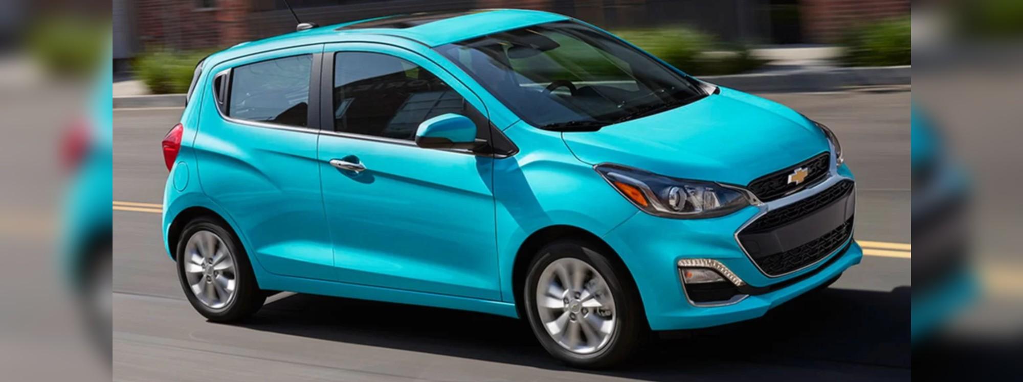 Chevrolet Spark 2021 es el auto más accesible de Estados Unidos