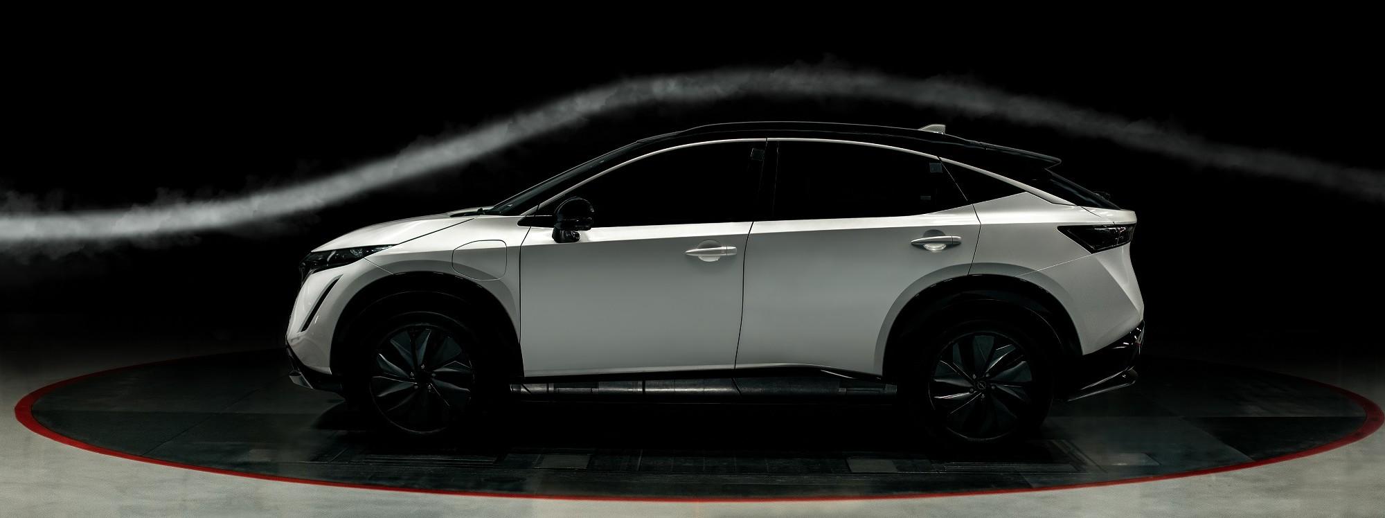 Nissan Ariya, el crossover más aerodinámico de la marca