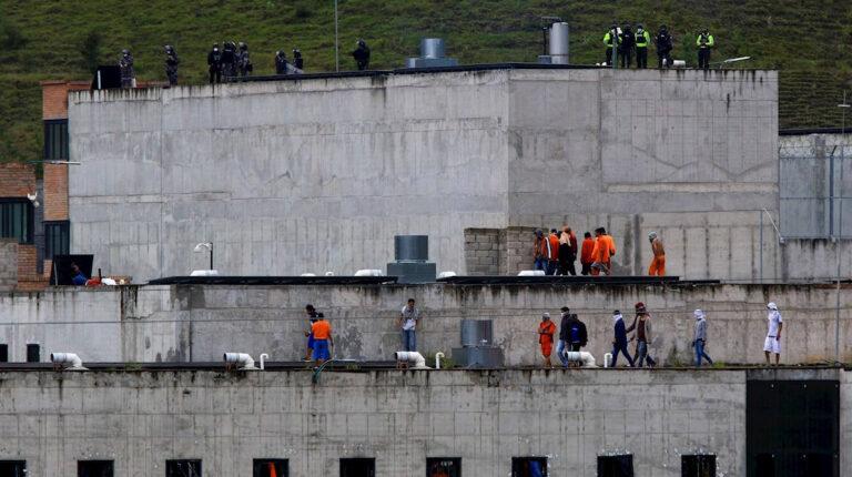 cárcel del el Turi cuando se produjo el motín carcelario