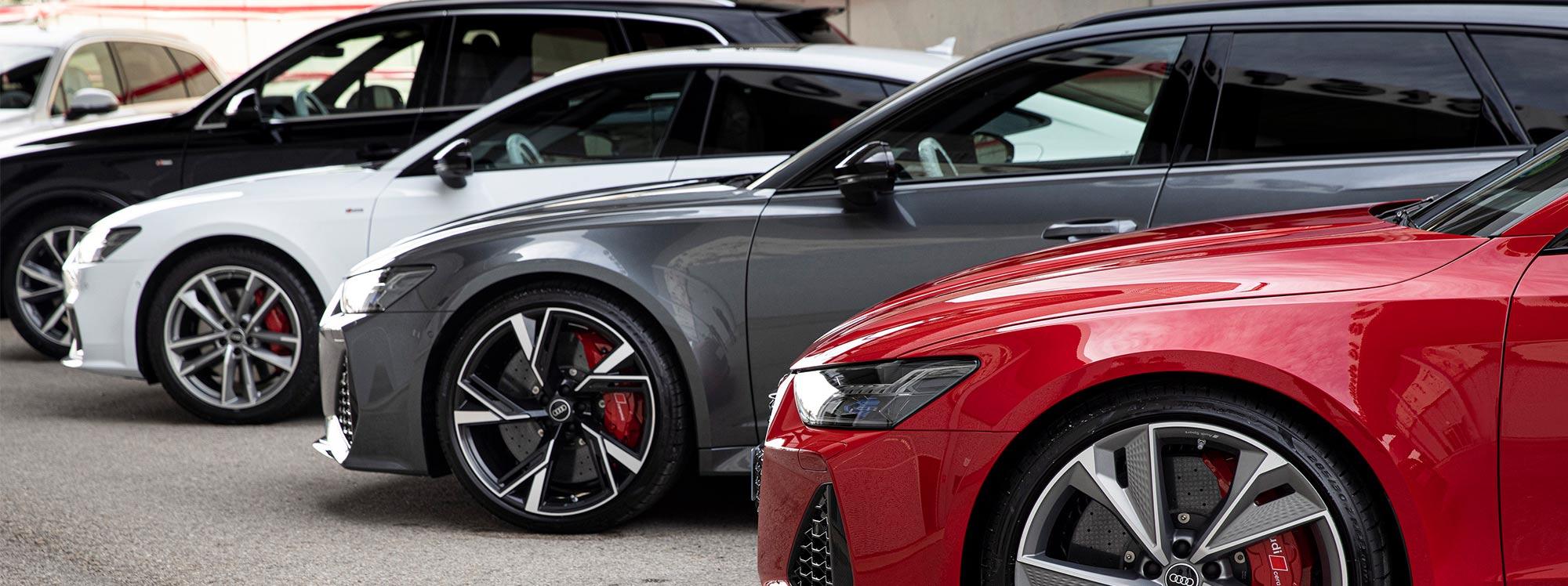 Audi entregó nuevos modelos al  Real Madrid