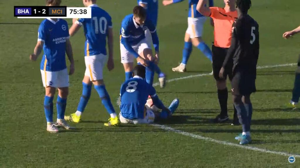 Moisés Caicedo debutó con derrota en el equipo Sub 23 del Brighton