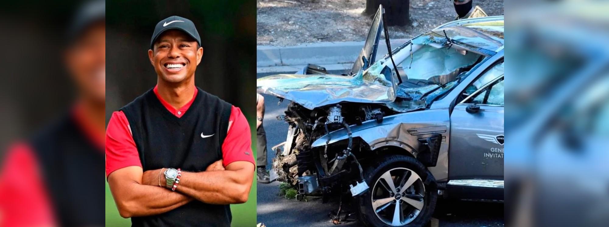 La Genesis GV80 salvó la vida a Tiger Woods