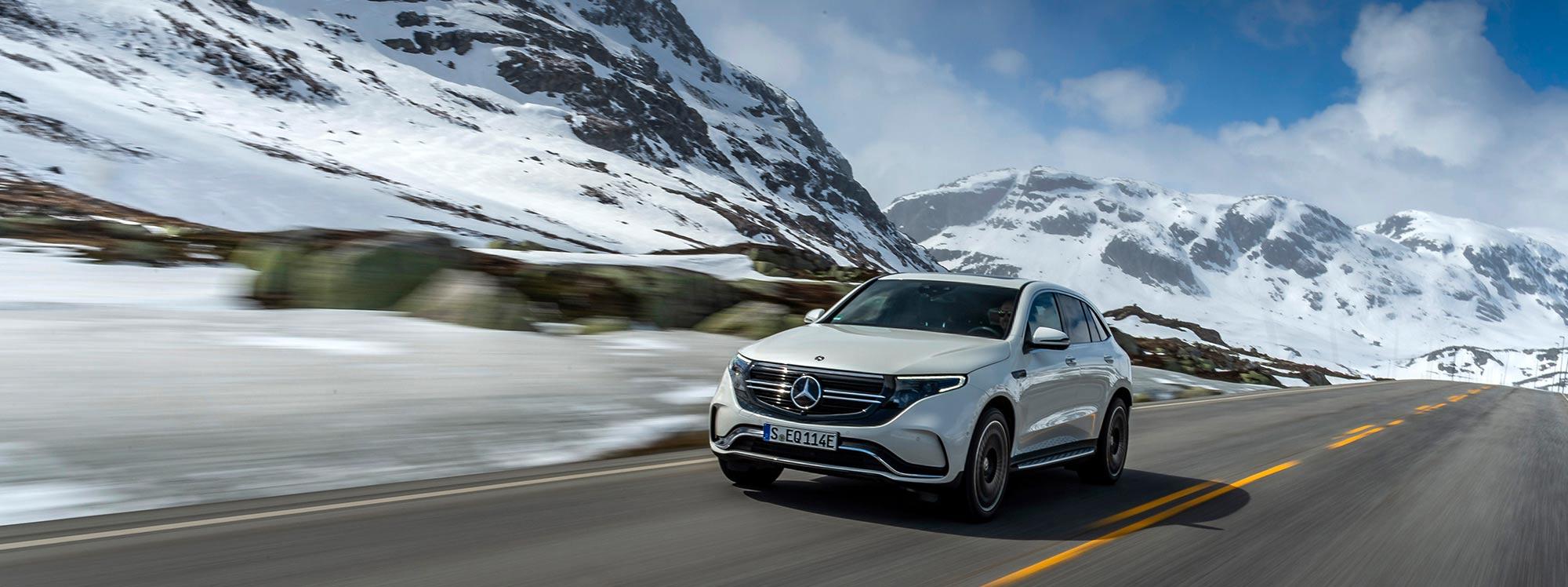 Mercedes Benz presenta una nueva versión del EQ