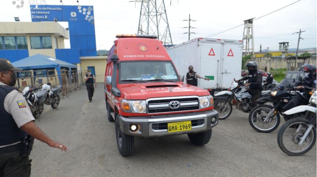 SNAI confirmó 34 muertos en dos cárceles de Guayaquil