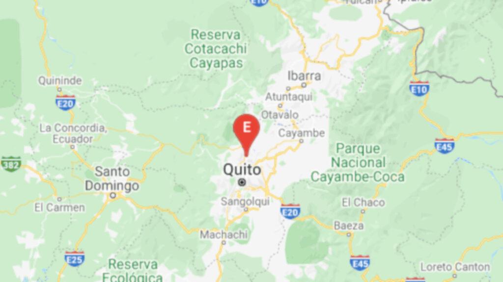 Leve sismo de 2,91 grados se registró en Quito