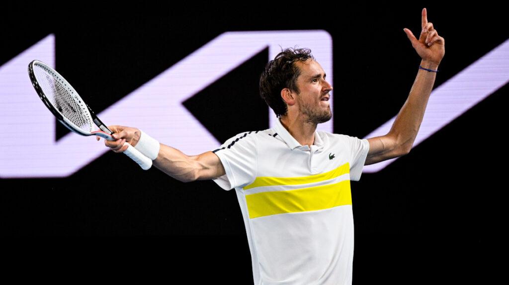 Medvedev se enfrentará a Djokovic en la final del Abierto de Australia
