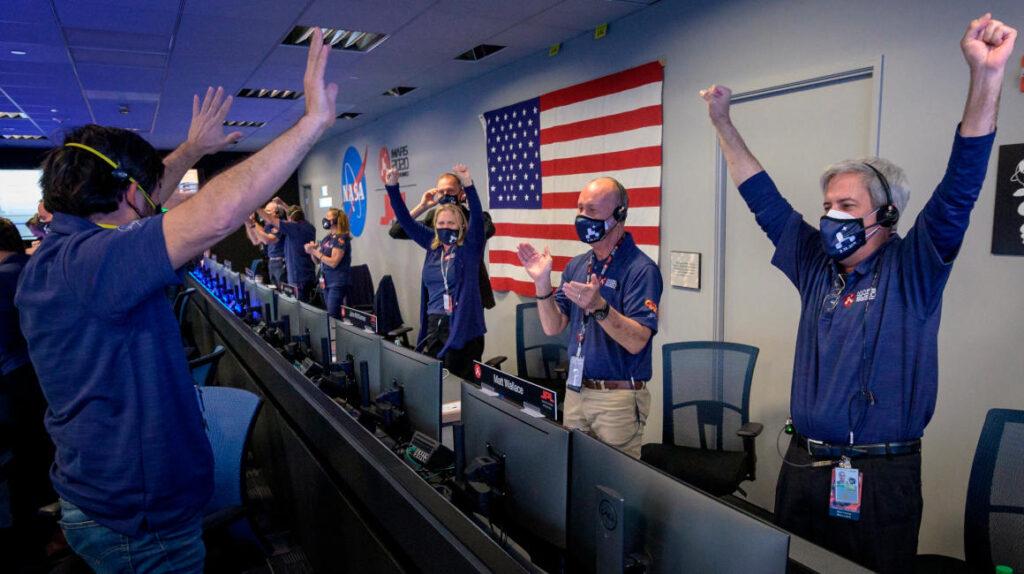 El Perseverance de la NASA toca el suelo de Marte