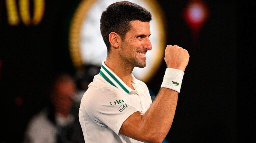 Djokovic termina con la campaña de Karatsev y es finalista en Australia