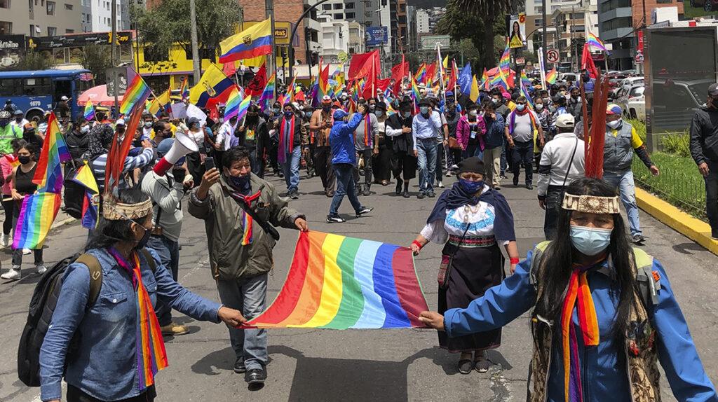 Movilización indígena será pacífica, asegura Lourdes Tibán