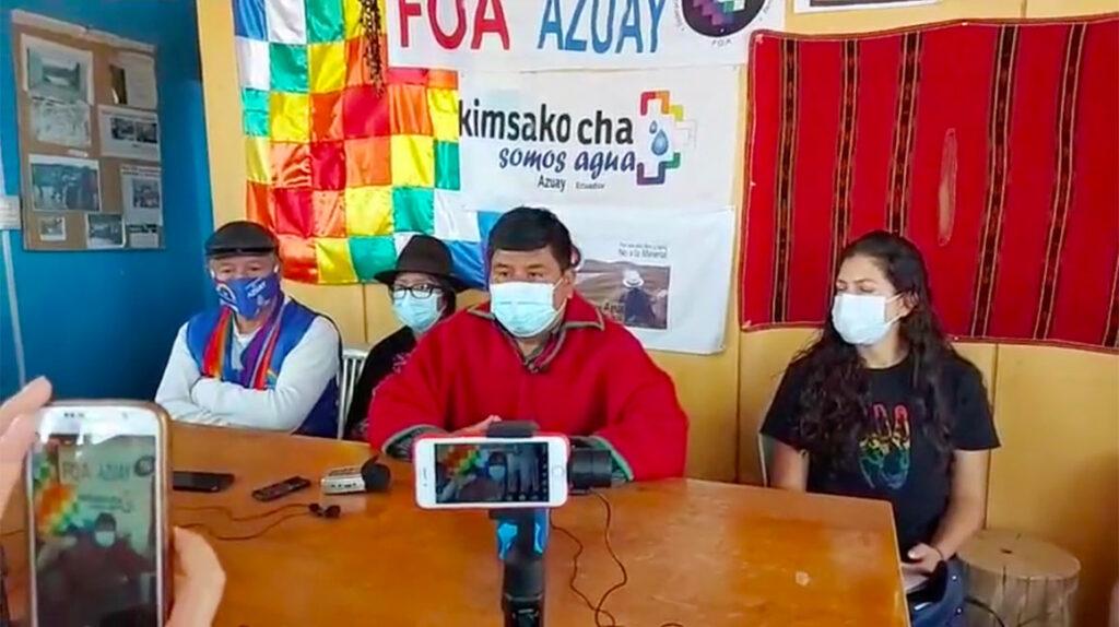 Ecuarunari anuncia movilizaciones por carta de Lasso