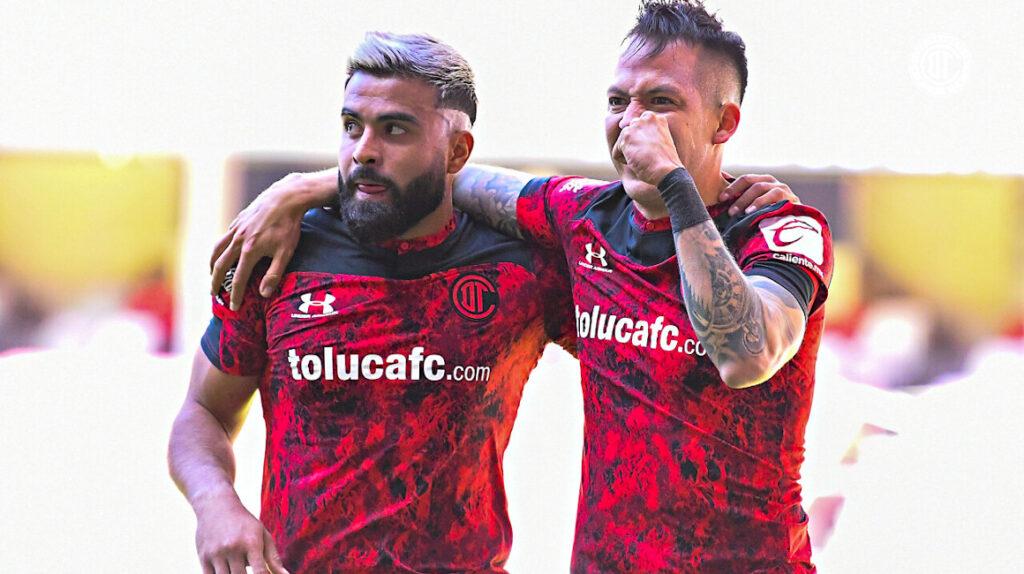 El Toluca de Michael Estrada y Joao Plata gana y comparte liderato