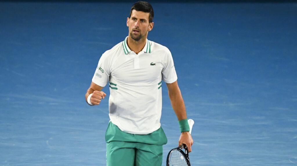 Novak Djokovic vence a Raonic y logra su victoria 300 en Grand Slam