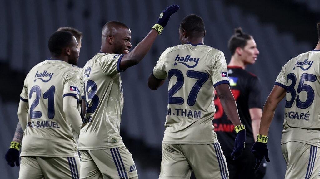 Enner Valencia marca su cuarto gol de la temporada con el Fenerbahce