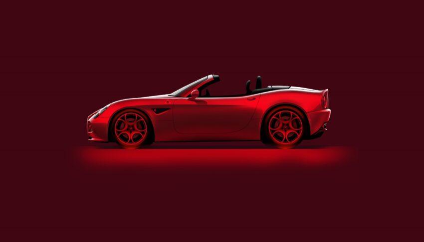 El rojo es el color de Italia y el símbolo de identidad de la marca.