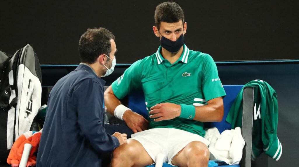 Novak Djokovic pone en duda su continuidad en el Abierto de Australia